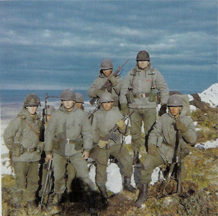 Soldados Argentinos en las Islas Malvinas