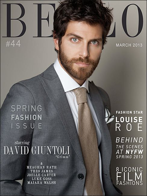 Picture About Male Model NBC's Supernatural Crime Drama 'Grimm David Giuntoli in Bello Mag