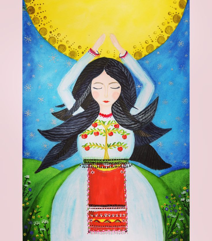 A Romanian inspired fairy. #fairy #illustration #magic
