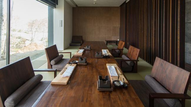 The Australian - Susan Kurosawa | Best Gourmet Getaway in the Mr & Mrs Smith Hotel Awards is Zaborin on Hokkaido. | zaborin.com