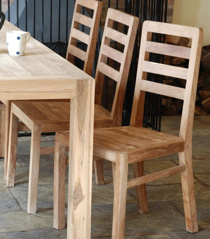 Modern Fresh Solid Wood Dining Chairs