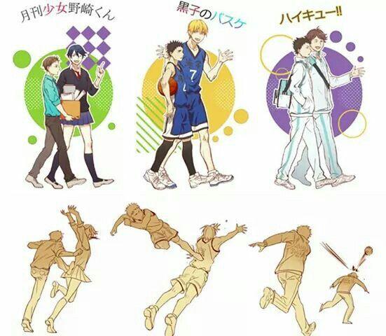 Ahahah lol Oikawa & Iwa... ( GSNK, KnB, Haikyuu!)