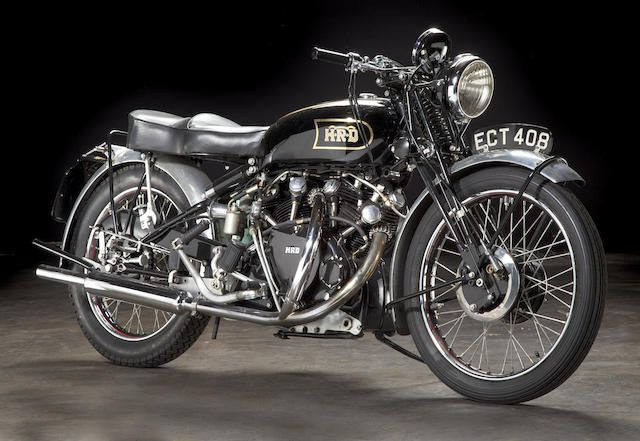 "As the factory ad said: ""The World's Fastest Standard Motorcycle"",1948 Vincent 998cc Series B Black Shadow Frame no. R2742 Engine no. F10AB/1/752"