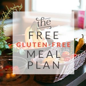 Free 2-Week Gluten-Free Meal Plan | Be Up & Doing Life. Download it from this site for free & include it in your next shopping list.