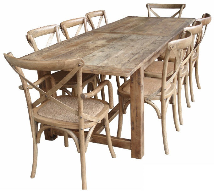 Dining Table @ sameliasmum.com LOVE the table...not so much the chairs