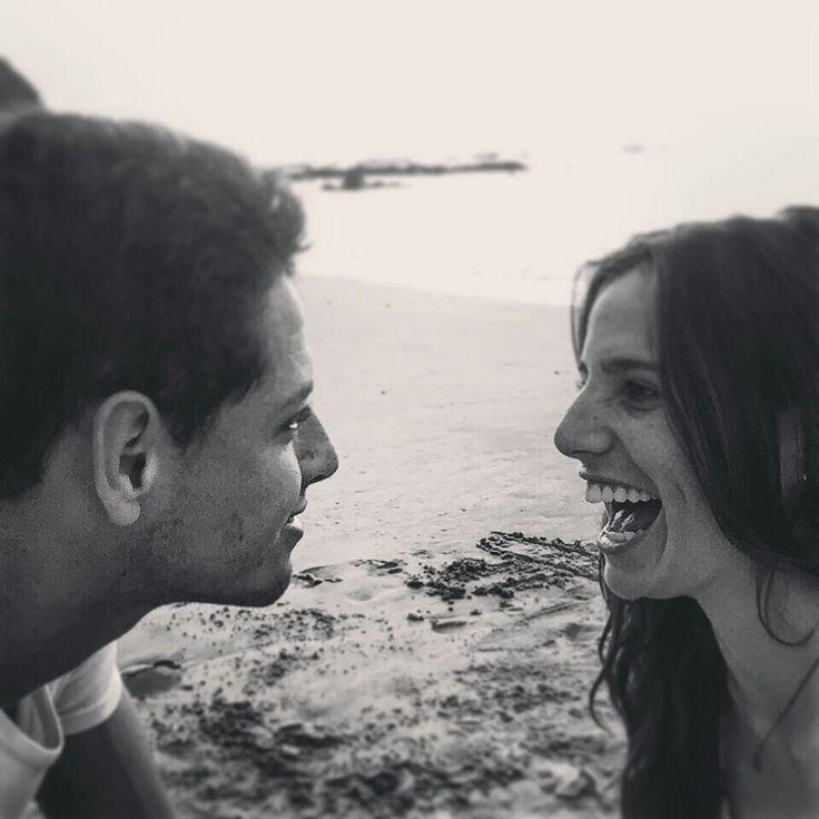 Chicharito y su novia Lucía