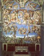 The Last Judgement  by Michelangelo Buonarroti