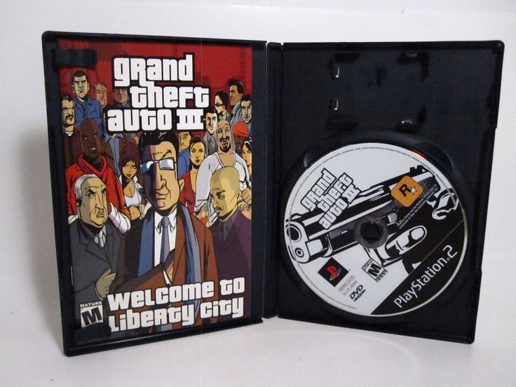 Grand Theft Auto PlayStation 2 with Manual Tested Rockstar Video Game | eBay