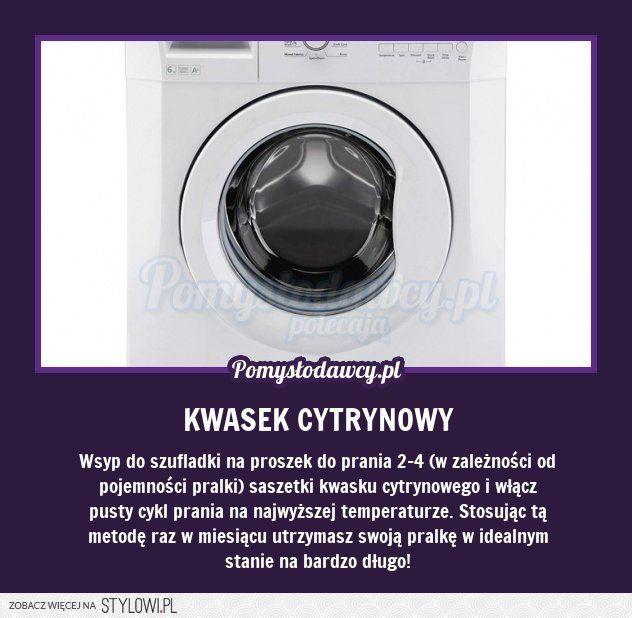 czysta pralka na Stylowi.pl