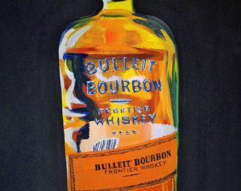 Woodford Reserve Straight Kentucky Bourbon signed original art