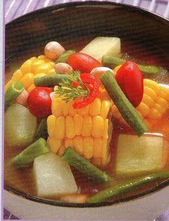 Sayur Asam Bandung @ www.masakkue.blogspot.com - International Food Recipes | Resep Masakan & Makanan Indonesia