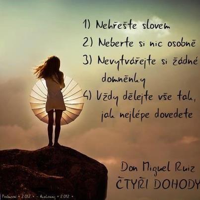 Čtyři dohody - Don Miguel Ruiz