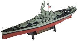 US Navy South Dakota Class Battleship - USS Massachusetts (BB-59) [With Collector Magazine]