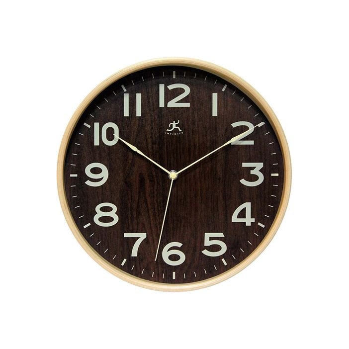 Size large, please.  Find the Old Growth Wall Clock, as seen in the The Distillery Collection at http://dotandbo.com/collections/the-distillery?utm_source=pinterest&utm_medium=organic&db_sku=104815