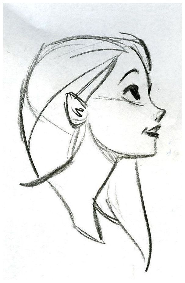 Sideview Face Teach Me To Draw Art Sketches Sketches Drawing