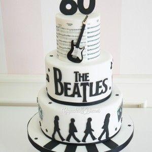 Tarta Beatles | Tartas y Galletas