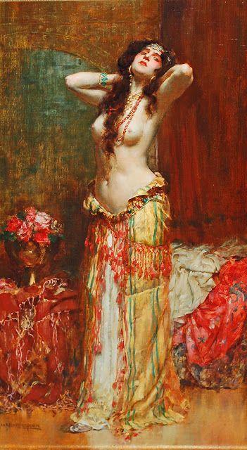 William A. Breakspeare (1855-1914), Orientalist Beauty.