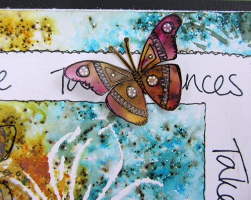 PaperArtsy: 2017 #2 Take Chances...Explore {by Wanda Hentges}