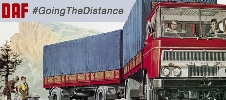 #GoingTheDistance - The Hunt for the Oldest Working DAF