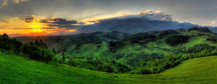 where fairytales are made . Romania . Bucegi