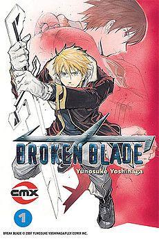 Broken Blade mecha / robot anime series