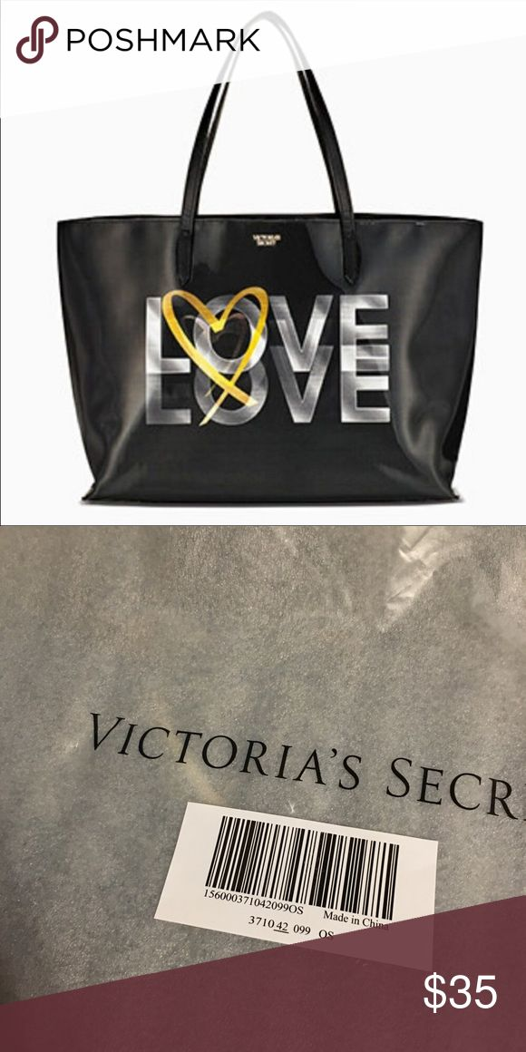 🌟BRAND NEW🌟VICTORIA SECRET LARGE LOVE TOTE Brand New  Authentic  No Tags Inside Online Packaging  Fees Included in price  Look at pictures please If you need additional pictures let me know 🚫NO TRADES🚫 🚫No Shipping on the Weekends🚫 Serious Buyers Only  THANK YOU Victoria's Secret Bags Totes