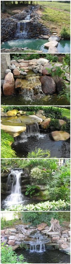 Best 25 small backyard ponds ideas on pinterest small for Building a fountain pond