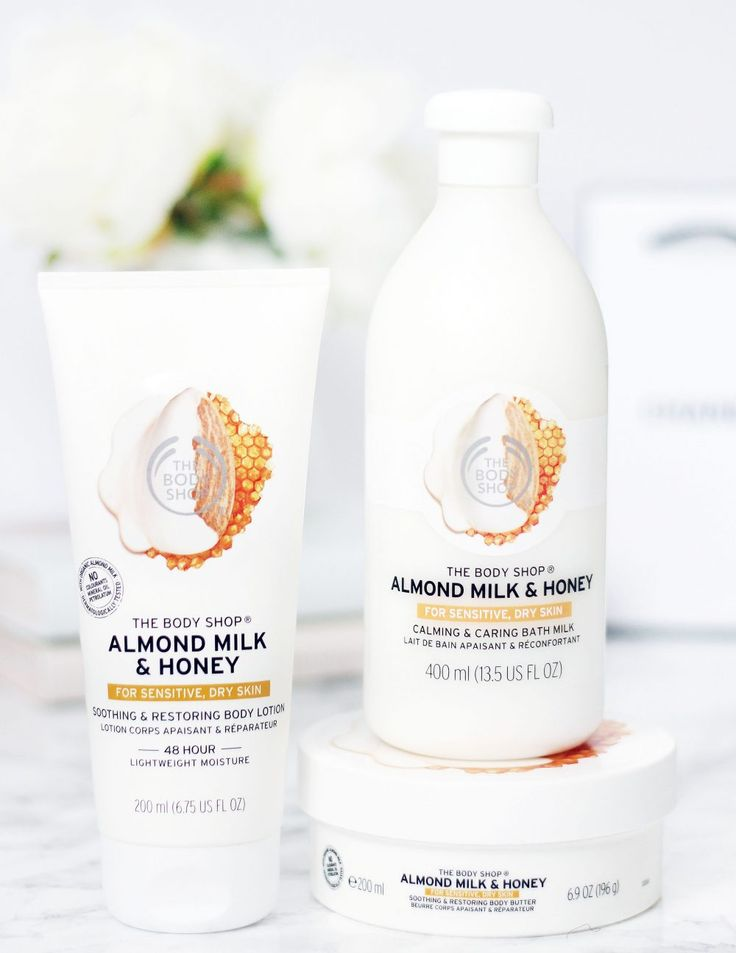 The Body Shop Almond Milk & Honey // Beauty and the Chic