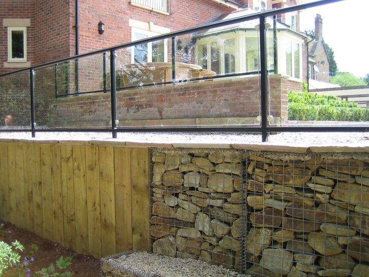 405 best images about gabion wall on Pinterest