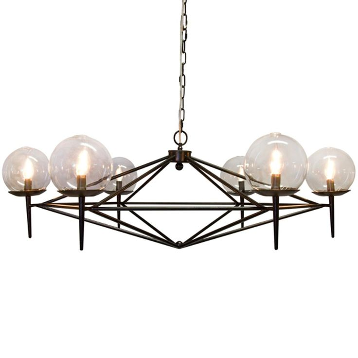 17 Best images about 3ely Lighting – Modern Black Chandelier