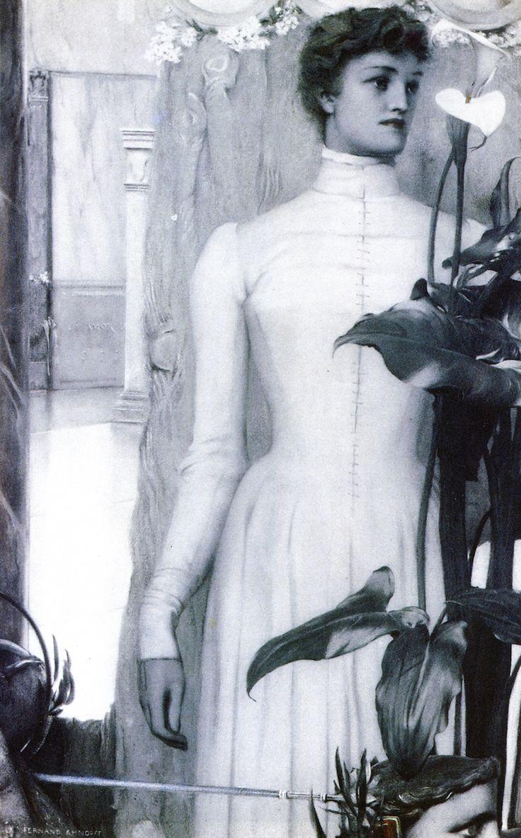 The Athenaeum - Arum Lily (Fernand Khnopff - ):