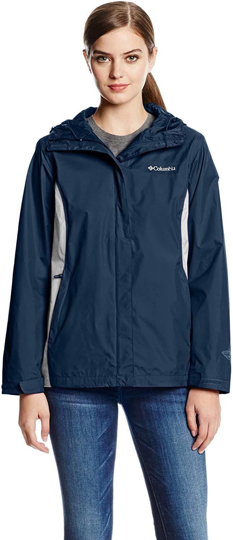 Columbia Women S Arcadia Ii Waterproof Breathable Jacket With Packable Hoodclothing Amazon Affilia In 2020 Waterproof Breathable Jacket Breathable Jacket Hood Clothes