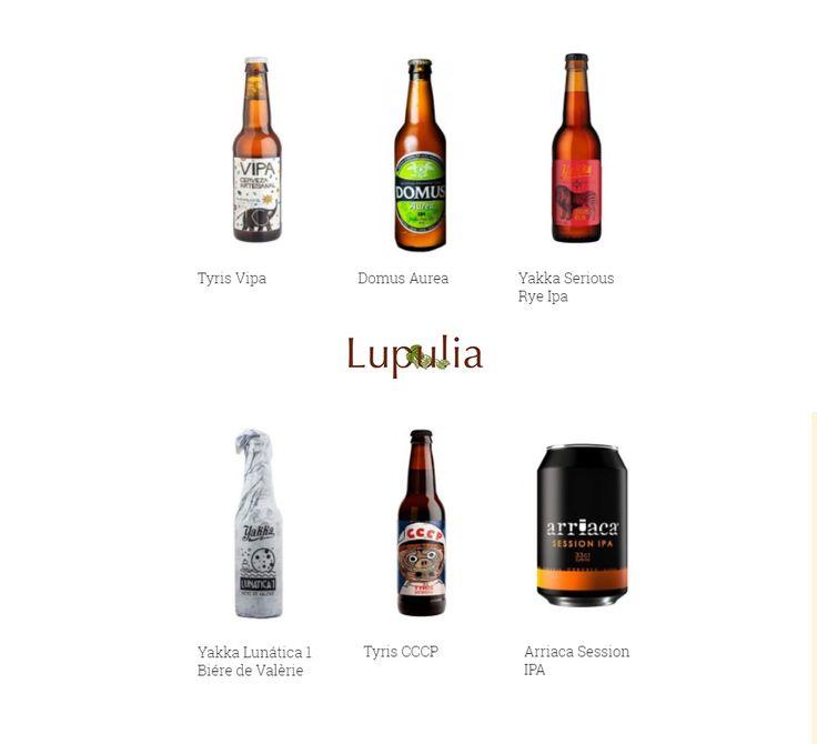 25% de #descuento en esta selección de cervezas artesanas, disponibles en #Lupulia a un precio muy especial solo duante nuestros #JuevesCerveceros. ¿Te lo vas a perder?