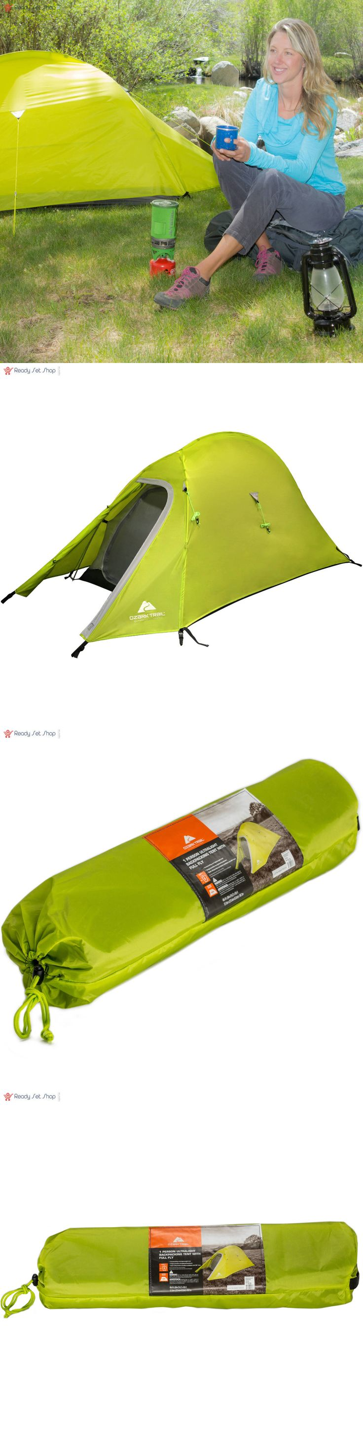 Tents 179010: Ozark Trail Ultra Light Back Packing 4 X 7 X 42 Tent With Full Fly, Sleeps 1 -> BUY IT NOW ONLY: $46.31 on eBay!