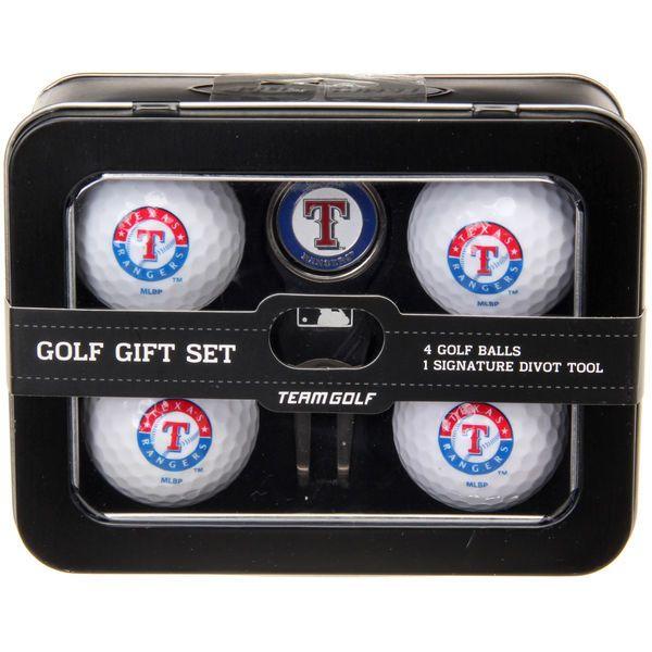 Texas Rangers 2016 4 Golf Ball and Divot Tool Set - $34.99