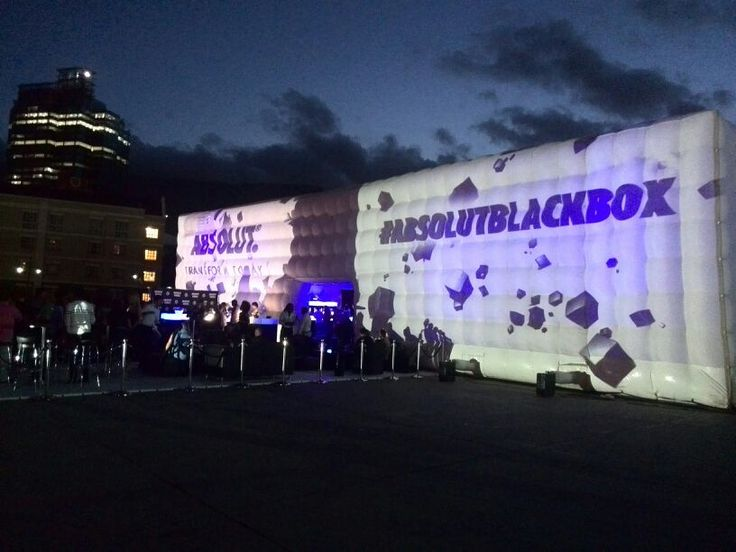 25m x 15m CUBE - 5m high and infinitely breathtaking... especially teamed up with state of the art 3D mapped video projection