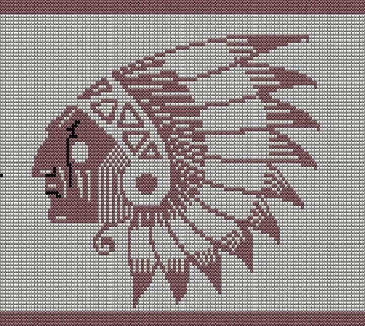 Native American Mochila bag pattern