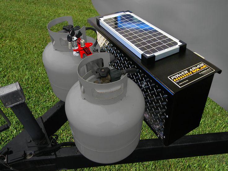 Creative Curt 52027 Watertight Battery Case Camper Trailer RV