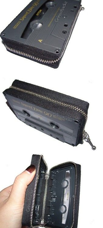Cassette wallet.