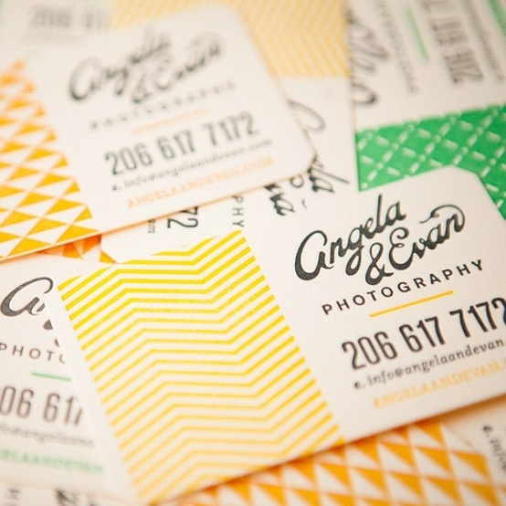 Business Card Round Up