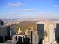 New York skyline from 70 stories above Rockefeller center.
