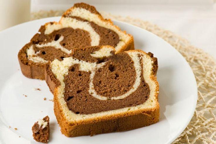 Κέικ μαρμπρέ του Στέλιου Παρλιάρου - gourmed.gr