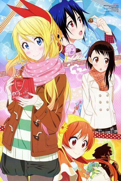Resultado de imagen para Nisekoi anime