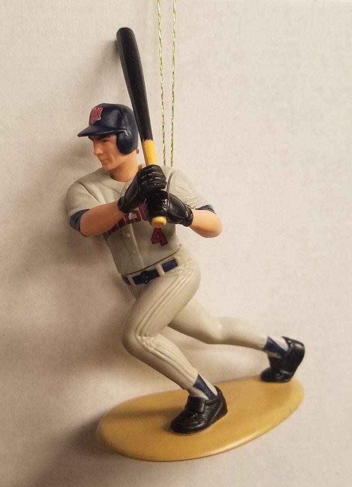 Paul Molitor Minnesota Twins MLB Baseball Christmas Tree Ornament