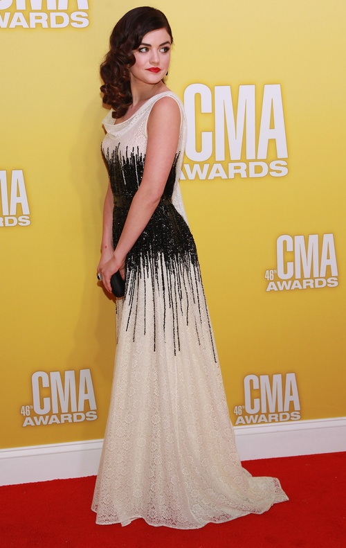 Lucy Hale Famous Fashion Pinterest Lucy Hale Red