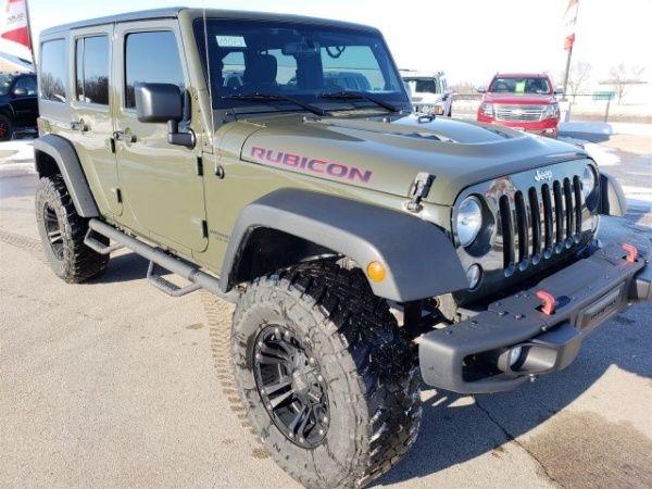 2015 Jeep Wrangler Unlimited Rubicon Hard Rock For Sale In Fond Du