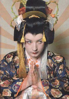 Boy George as Japanese Princess