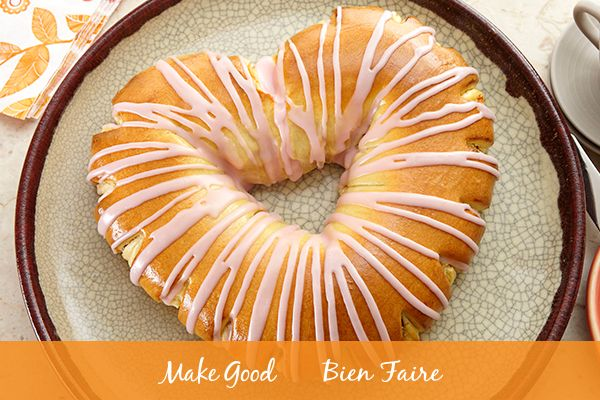 Happy Valentines Day, Make Good community! We hope you share the love (and maybe even a slice of our delicious Cream Cheese Danish Heart!) today with everyone you love in your life. #makegood #recipe #valentinesday #love #dessert #baking #recipes #heart