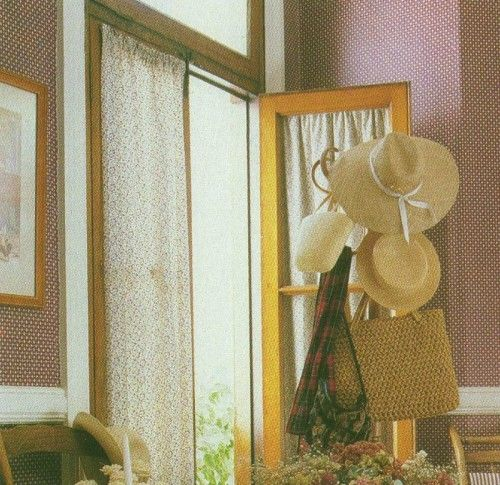 17 mejores ideas sobre cortinas de ventanas de puerta en for Estores de madera