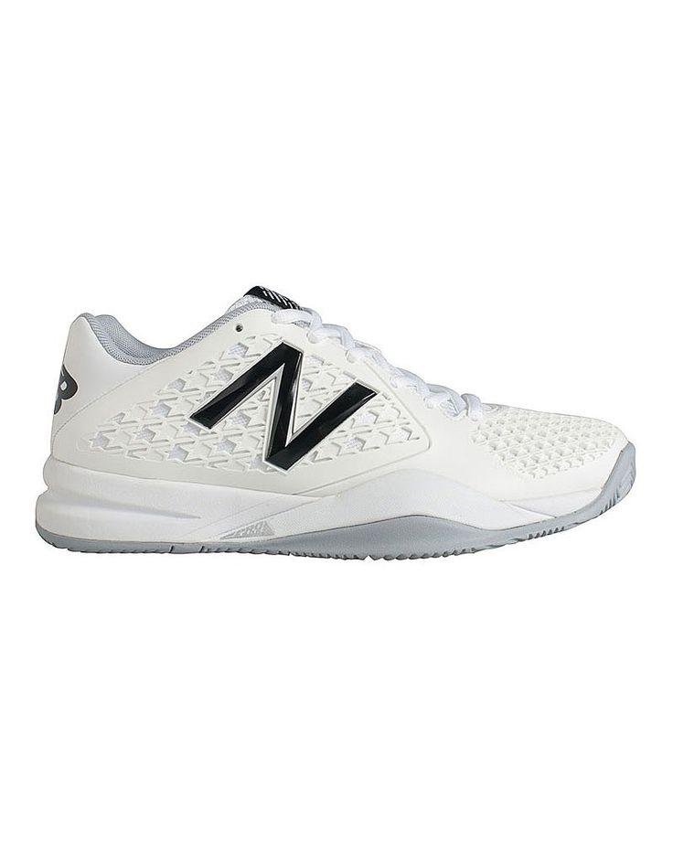 New Balance Tennis Trainer - White   trainers   Sweaty Betty